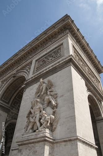 Arc de Triomphe, Paris, Frankreich