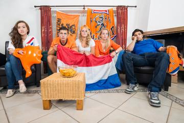 Dissillusioned Dutch sports fans