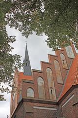 Marienkirche in Stadt Usedom 1337, (Mecklenburg-Vorpommern)