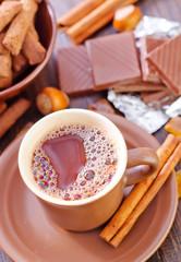 coffee with chocolate
