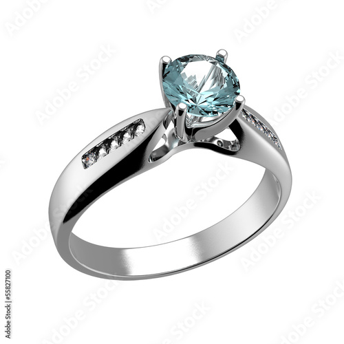 Wedding Ring with diamond