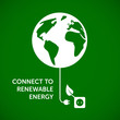 connect to renewable energy - ecological background