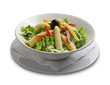 Healthy salad with corn