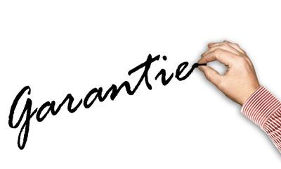 Handweiss - Garantie