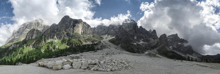 Dolomiti Val Venegia panorama