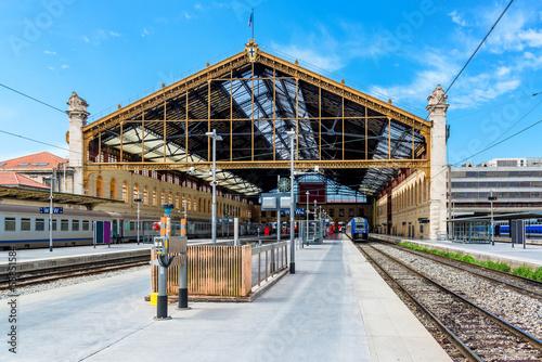 Leinwandbild Motiv Marseille St. Charles railway station, France