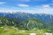 唐松岳からの眺め