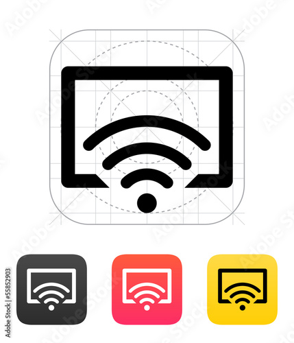 Remote control icon. Vector illustration.