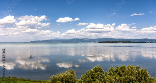 Lake Trasimeno in Umbria, Italy