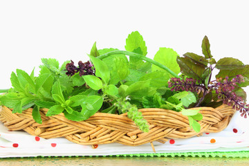 herbs closeup