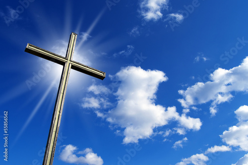 Cross Against the Blue Sky