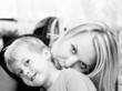 Joyful mums with the child
