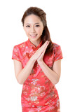 cheongsam woman
