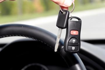 Car keys.