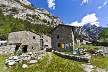 Casa di pietra in Val di Mello