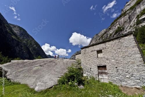 Poster Casa di pietra in Val di Mello