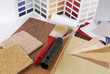 paint and material color choosing for interior decoration