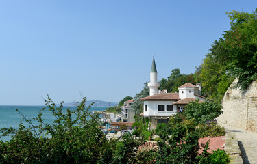 Residence of the Romanian queen by the black sea in Balchik