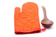 Handschuh mit Holzlöffel