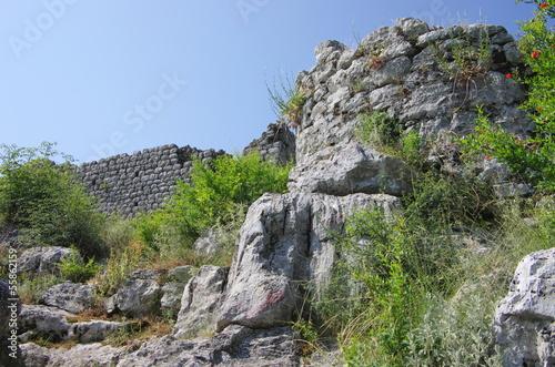 Rock And Ruins Of Sas Stari Grad