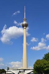 Berlino - Antenna della Televisione ( Fernsehturm)