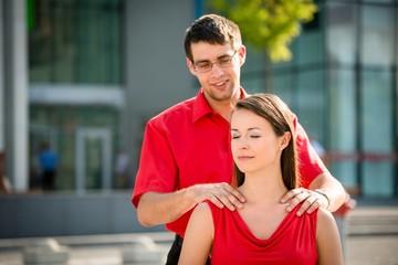 Hard work - massage will help