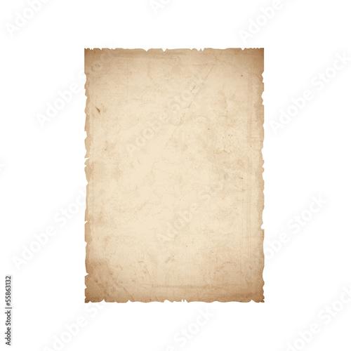 Fototapeta Sheet of old paper