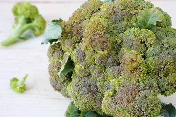 fresh broccoli whole head