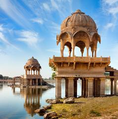Gadi Sagar (Gadisar), Jaisalmer, Rajasthan, India, Asia