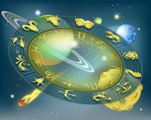 Круг зодиака в пространстве