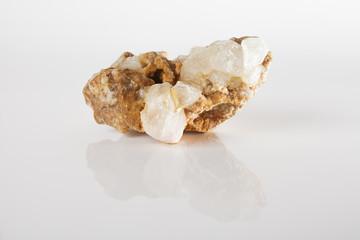 Quartz crystals cluster