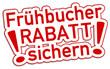 Frühbucher Rabatt Schild rot  #130904-svg02