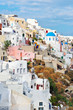 Oia white houses and chapels