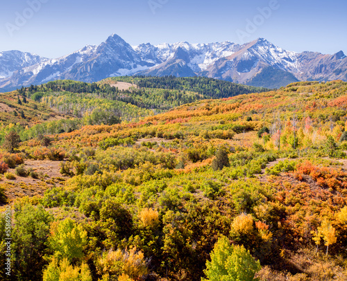 Dallas Divide in Autumn