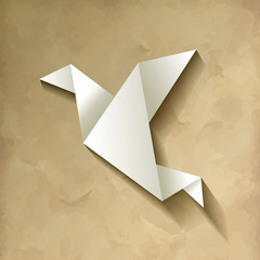 Freelancer Vogel Origami Vintage