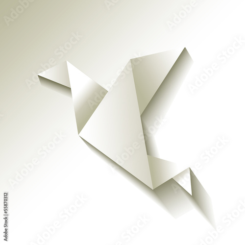 Freelancer Vogel Origami