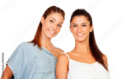 couple of girlfriends