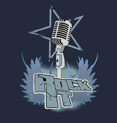 Rock it - Elements of rock group.