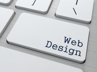 Web Design. Business Concept.