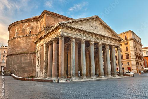 Fotobehang Rome Pantheon in Rome, Italy