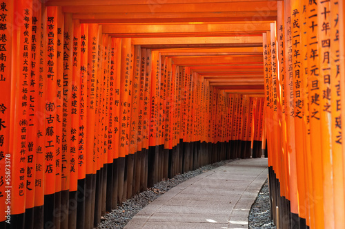 Plakat Fushimi Inari Shrine