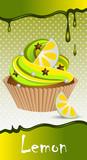 cup cake lemon