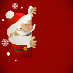 Santa Claus with place for your text