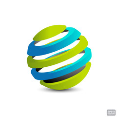 ellipses form a sphere