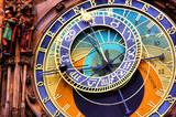 Close up of the Prague astronomical clock, Czech Republic - Fine Art prints