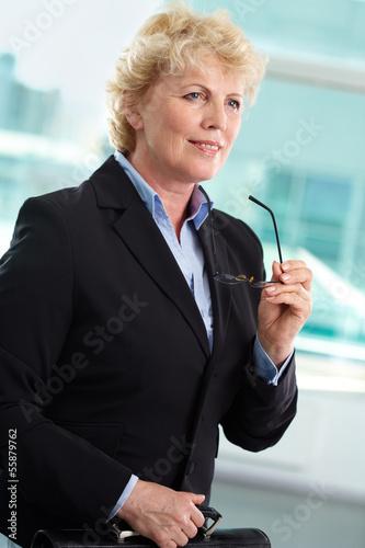 Elegant businesswoman
