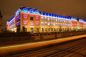 Fête des lumières à Lyon.