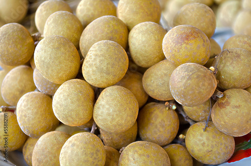Fresh Sweet Longan Thai Fruit Yummy
