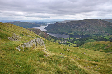 ullswater in lake district, england, united kingdom