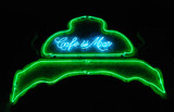 cafe del mar, neon light